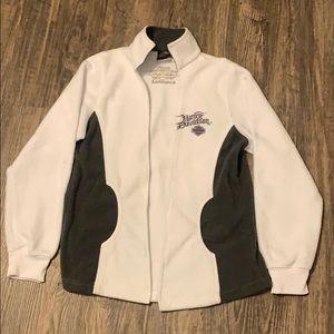 Harley Davidson Open Front Sweatshirt